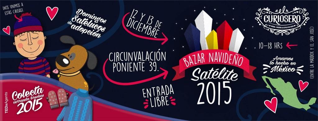 Bazar Navideño Satélite 2015