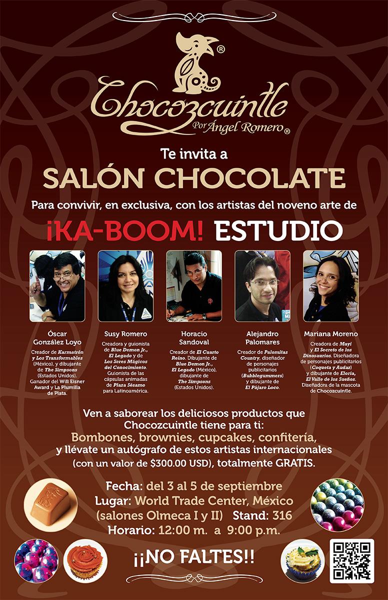 Chocozcuintle en Salón Chocolate 2015